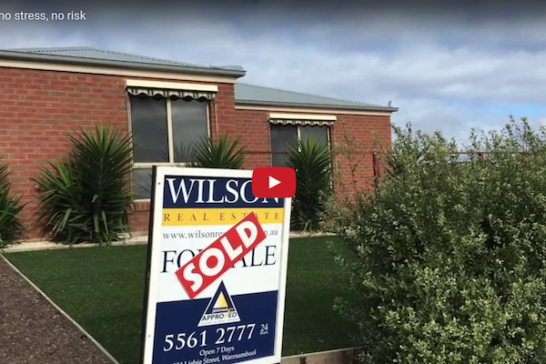 SOLD – no stress, no risk