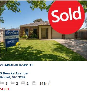 Real estate appraisal Koroit VIC 3282