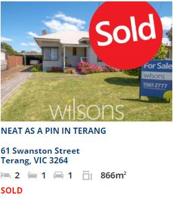 Real estate appraisal Terang VIC 3264