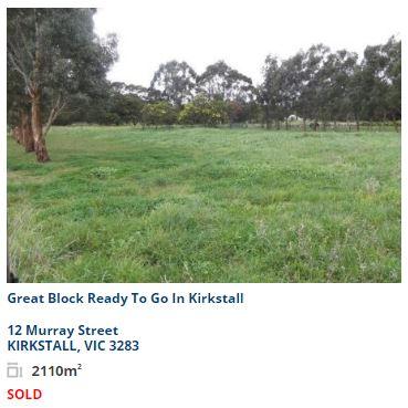 Property valuation Kirkstall VIC 3265