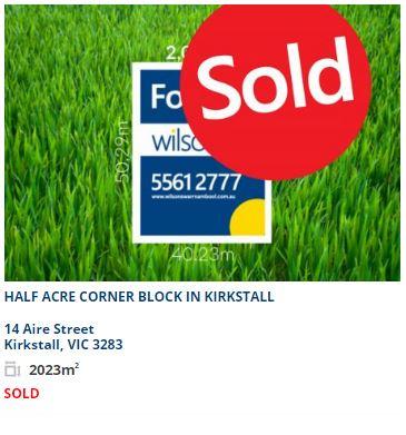 Real estate appraisal Kirkstall VIC 3283