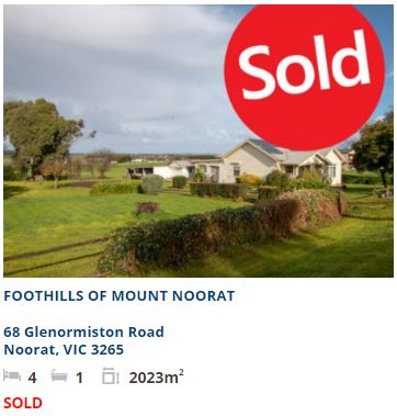 real estate appraisal Noorat VIC 3265