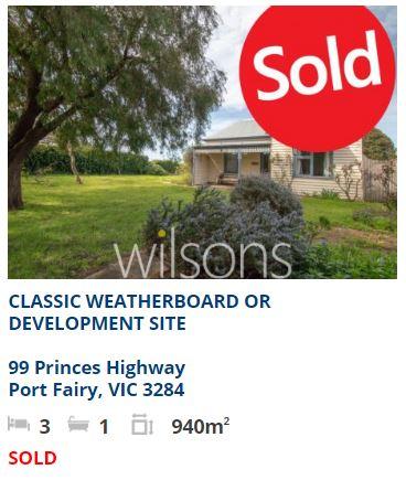 Real estate appraisal Port Fairy VIC 3284