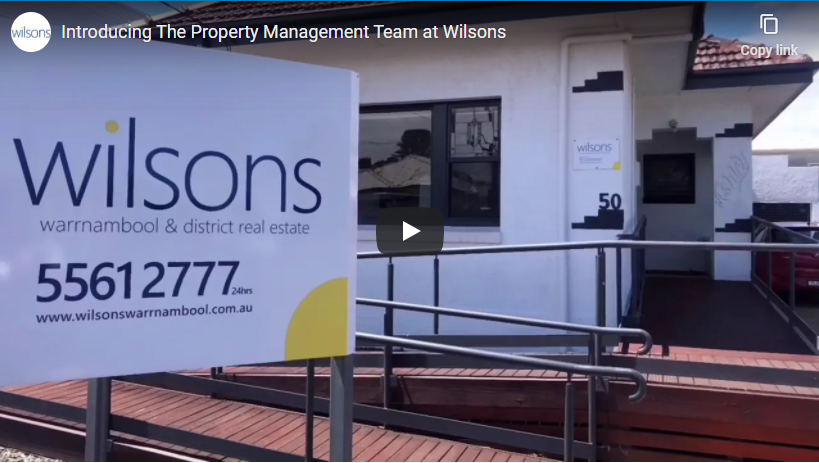 Wilsons Property Management – an intro…
